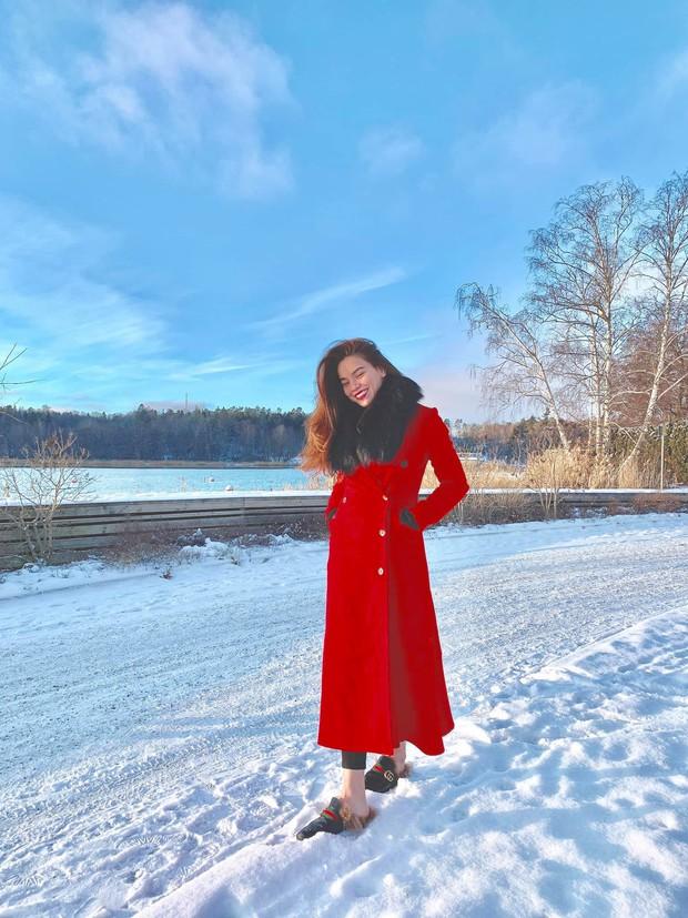 Hồ Ngọc Hà hạnh phúc đưa bé Subeo và cả đại gia đình tới nhà Kim Lý tại Thụy Điển - Ảnh 6.