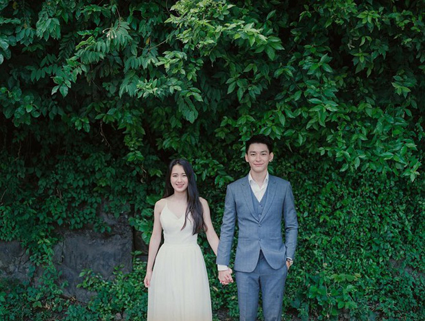 Hot girl Lào gốc Việt lên xe hoa sau hơn 2 năm hẹn hò với người yêu điển trai - Ảnh 2.
