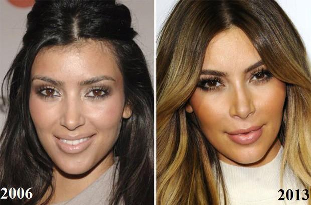 Kim Kardashian hướng dẫn makeup nhưng dân tình chỉ chú ý đến chi tiết bất thường này trên gương mặt - Ảnh 4.