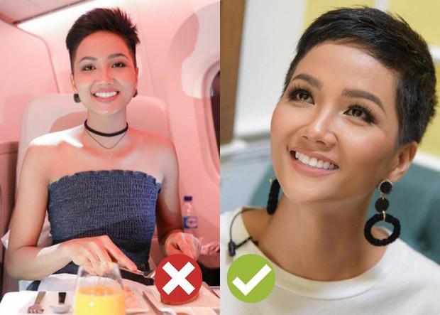 Tạo kỳ tích tại Miss Universe với da nâu tóc tém, nhưng HHen Niê nhiều lần dìm nhan sắc bằng kiểu tóc xấu khó cưỡng - Ảnh 7.
