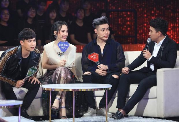 Hot girl Vũ Ngọc Châm bất ngờ hỏi Hồ Quang Hiếu đã chia tay Bảo Anh chưa - Ảnh 1.