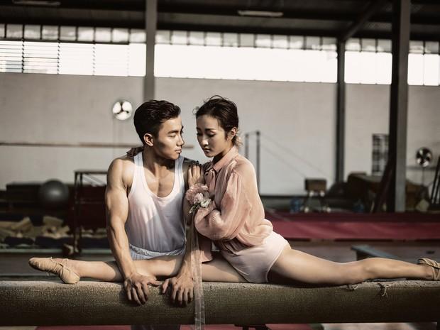 Trầm trồ với bộ ảnh cưới chất ngất của hot boy Thể dục dụng cụ Việt Nam - Ảnh 1.