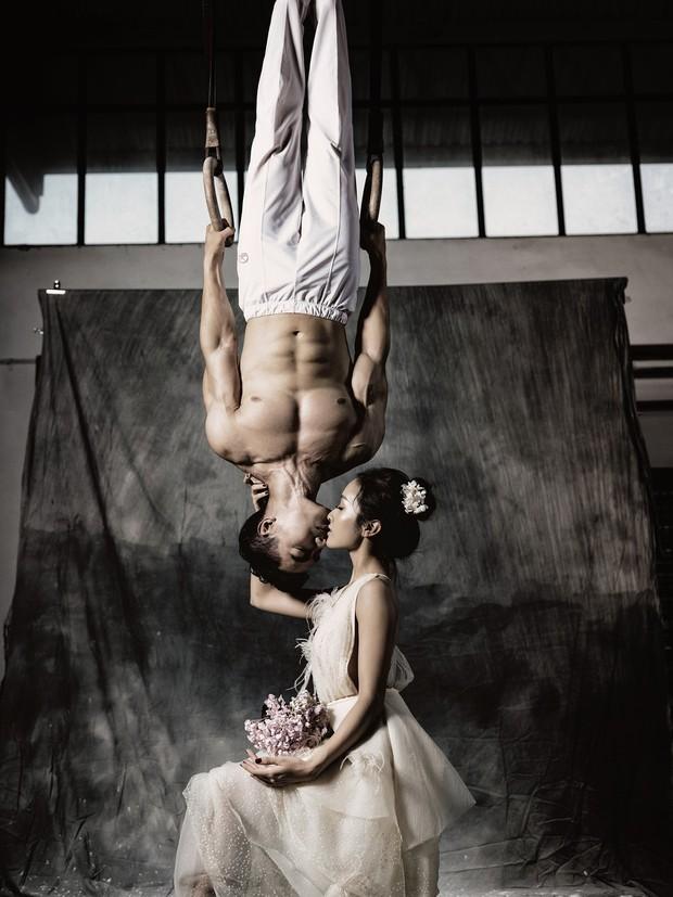 Trầm trồ với bộ ảnh cưới chất ngất của hot boy Thể dục dụng cụ Việt Nam - Ảnh 7.