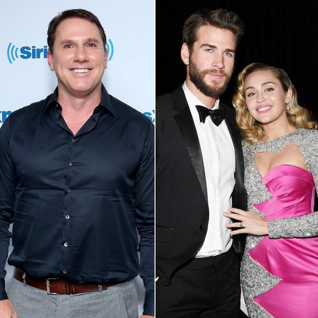 Hạnh phúc vì cưới nhau sau 10 năm yêu, Miley mặc váy trễ nải vòng 1 quẩy tưng bừng cùng Liam - Ảnh 4.