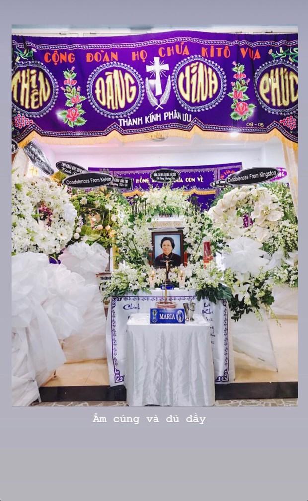 Á hậu Thùy Dung đau buồn nói lời cuối với bà ngoại: Không còn đau đớn nữa, ngoại ngủ ngon nha - Ảnh 2.
