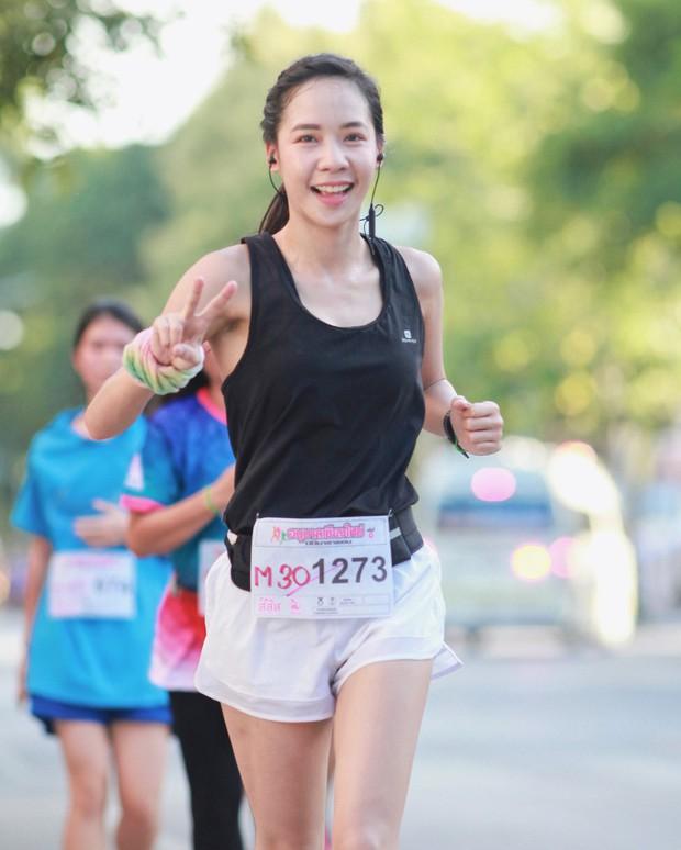 Nổi rần rần khi tham dự một giải chạy và đây là điều bất ngờ khi info của cô gái này được tiết lộ - Ảnh 1.