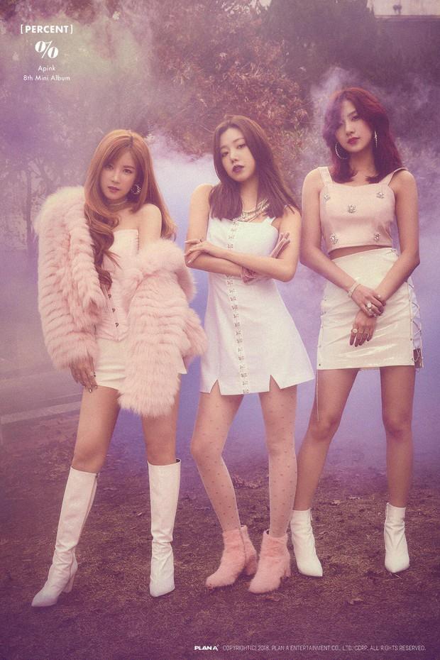 Một cơn mưa chê bai đang được netizen dành cho Apink vì đổi style sexy nửa vời - Ảnh 5.