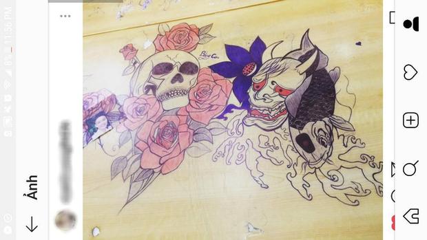 Rảnh tay vẽ giết thời gian, nhiều bạn đã tạo nên siêu phẩm trên bàn tuyệt đỉnh thế này đây - Ảnh 6.
