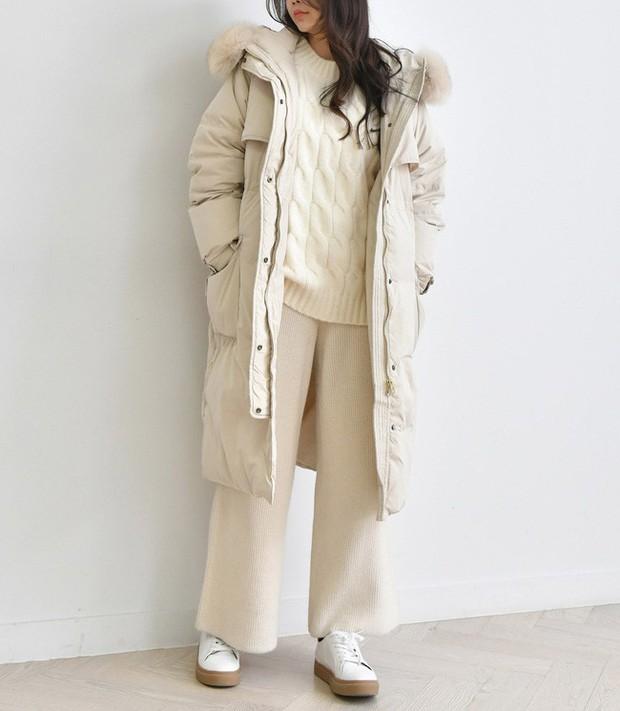 Lên đồ đậm chất Hàn với áo phao con sâu đã to lại dài cho những ngày cuối năm rét cóng - Ảnh 15.