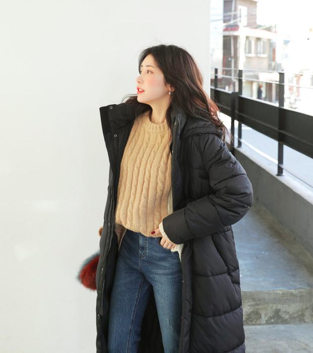 Lên đồ đậm chất Hàn với áo phao con sâu đã to lại dài cho những ngày cuối năm rét cóng - Ảnh 7.
