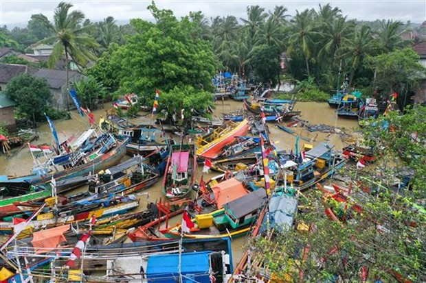 Động đất cường độ 6,1 richter làm rung chuyển miền Đông Indonesia - Ảnh 1.