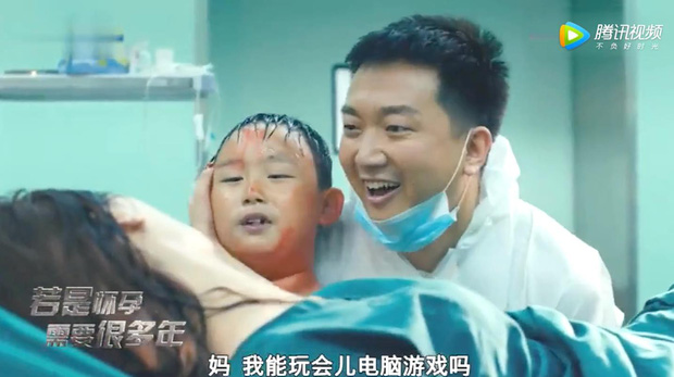Phản khoa học level phim Trung: Khi bạn mang bầu 8 năm thì đứa trẻ sinh ra trông sẽ như thế này! - Ảnh 3.