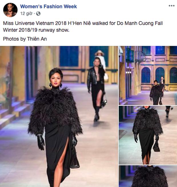 Catwalk tại show Đỗ Mạnh Cường quá đỉnh, netizen quốc tế khuyên HHen Niê nên thẳng tiến đến Paris Fashion Week - Ảnh 1.