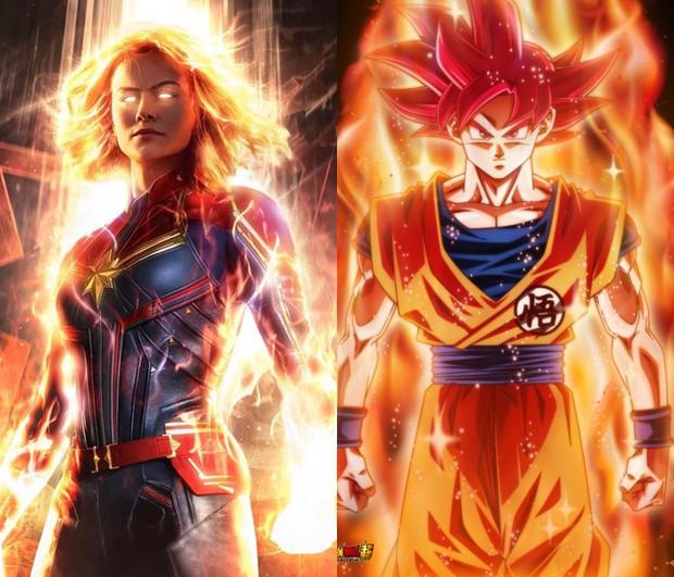 Dân mạng lại bấn loạn vì tạo hình Captain Marvel như một Siêu Xayda vĩ đại - Ảnh 4.