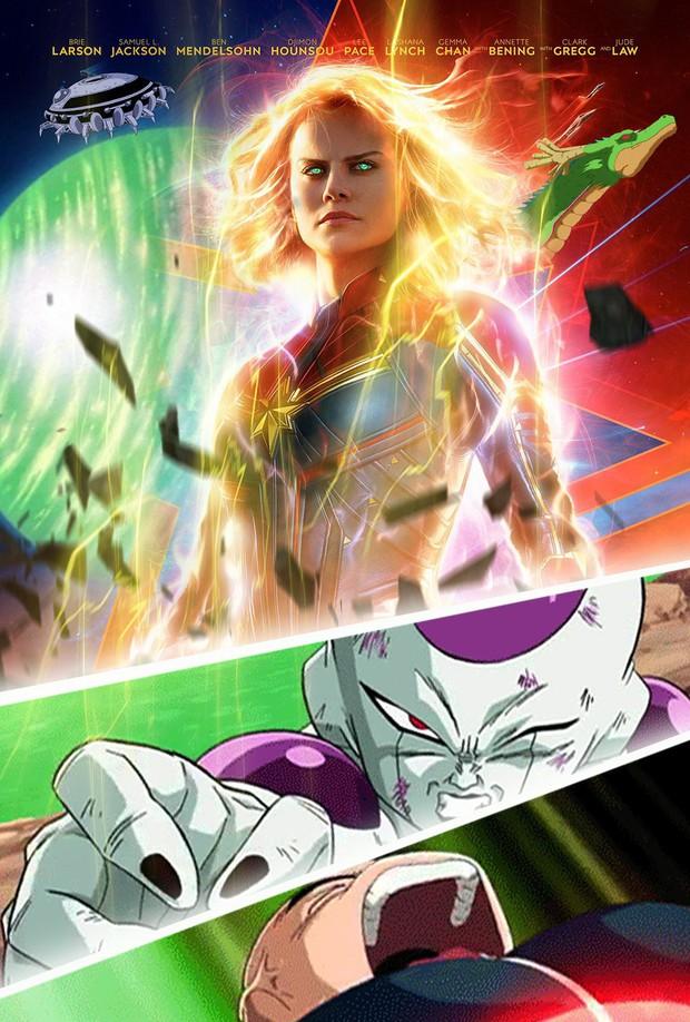 Dân mạng lại bấn loạn vì tạo hình Captain Marvel như một Siêu Xayda vĩ đại - Ảnh 2.