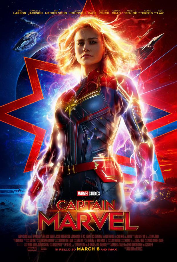 Dân mạng lại bấn loạn vì tạo hình Captain Marvel như một Siêu Xayda vĩ đại - Ảnh 1.