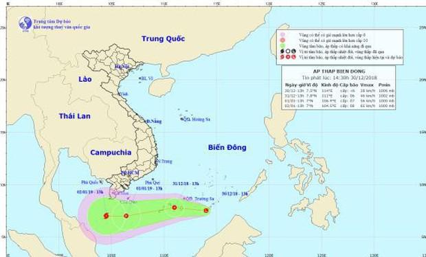 Một áp thấp nhiệt đới khác đã hình thành trên Biển Đông, có khả năng mạnh lên thành bão - Ảnh 1.