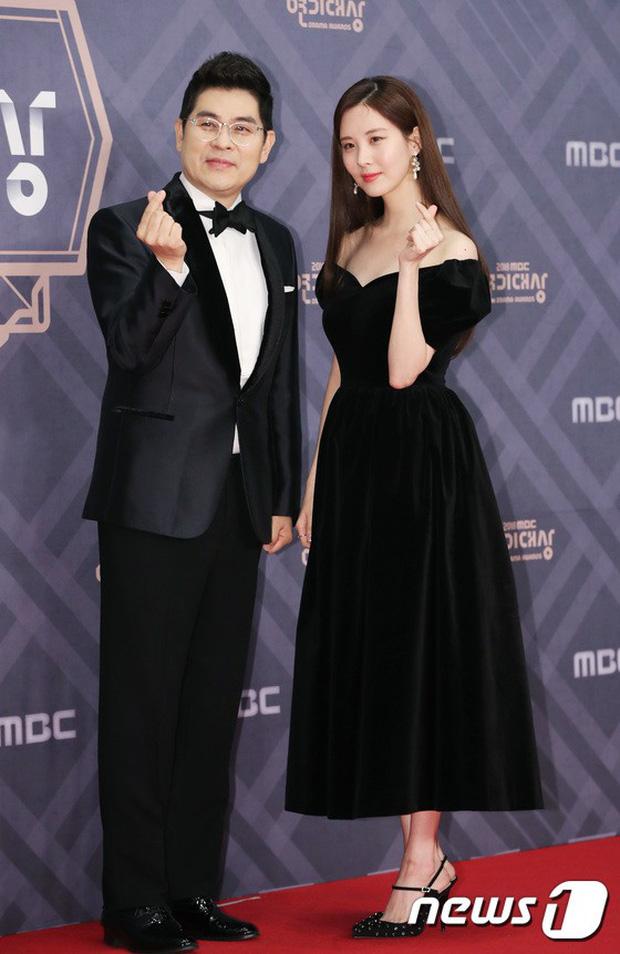 Thảm đỏ MBC Drama Awards: Sao nhí một thời lấn át Seohyun và loạt mỹ nhân hở bạo, So Ji Sub dẫn đầu dàn minh tinh - Ảnh 2.