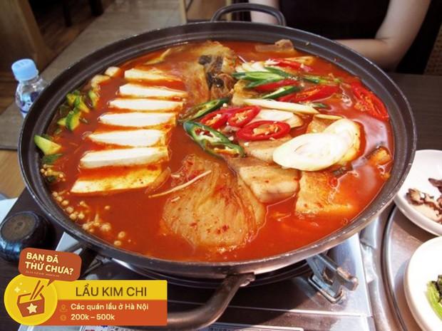 Thách thức team ăn cay với các loại lẩu cay nồng cho buổi tiệc tất niên ngày lạnh ở Hà Nội - Ảnh 4.