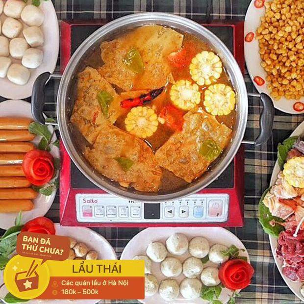 Thách thức team ăn cay với các loại lẩu cay nồng cho buổi tiệc tất niên ngày lạnh ở Hà Nội - Ảnh 2.