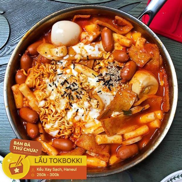 Thách thức team ăn cay với các loại lẩu cay nồng cho buổi tiệc tất niên ngày lạnh ở Hà Nội - Ảnh 7.