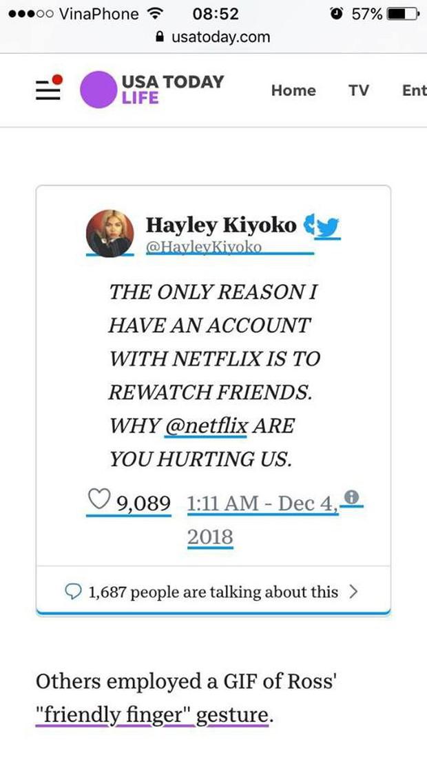Fan Friends hết phẫn nộ tới thở phào vì số phận chìm nổi của series trên Netflix - Ảnh 6.