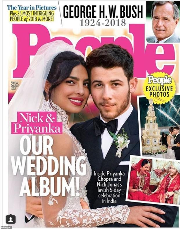 Nick Jonas hé lộ hình ảnh và clip Hoa hậu Thế giới lộng lẫy với tà váy cưới khổng lồ trong hôn lễ thế kỷ - Ảnh 4.