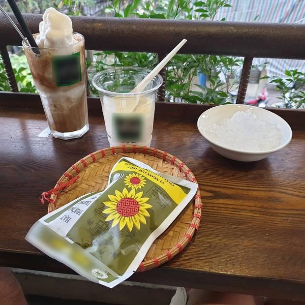 Khoe ảnh đi cafe ở Hà Nội, fan nghi mỹ nhân She Was Pretty Hwang Jung Eum đến Việt Nam du lịch cùng chồng - Ảnh 3.