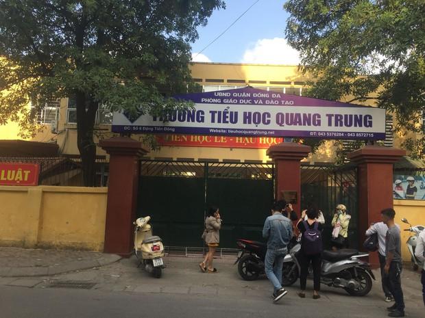 Vụ tát học sinh 50 cái ở Hà Nội: Cô giáo phủ nhận cho học sinh tát bạn - Ảnh 1.