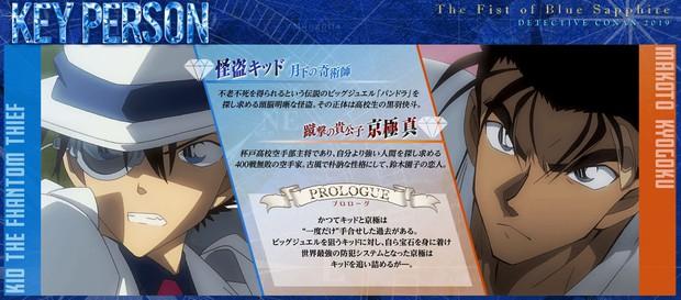Sau Hattori Heiji, đến lượt Kid và Makoto chiếm sóng trong Conan Movie 23! - Ảnh 3.