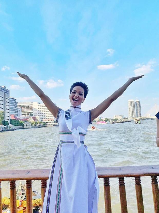 H'Hen Niê Miss Universe: Trang phục của H'Hen Niê tại Hoa hậu Hoàn Vũ - Ảnh 2.