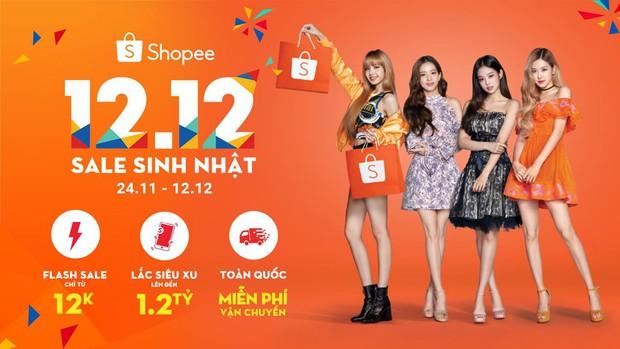 BLACKPINK chính thức mở bán phụ kiện của nhóm trên ứng dụng Shopee, cơ hội săn mini album cực hot - Ảnh 1.