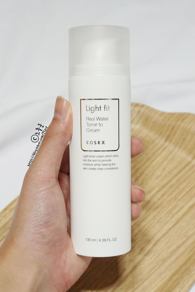 Cosrx Light Fit Real Water Toner to Cream: Combo toner - kem dưỡng - Ảnh 7.