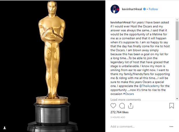 Đã tìm ra MC cho Oscar 2019, hứa hẹn sẽ cho khán giả cười nứt bụng - Ảnh 1.