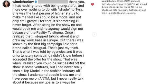 Winnie Harlow: Người mẫu America's Next Top Model vô ơn với Tyra Banks - Ảnh 2.