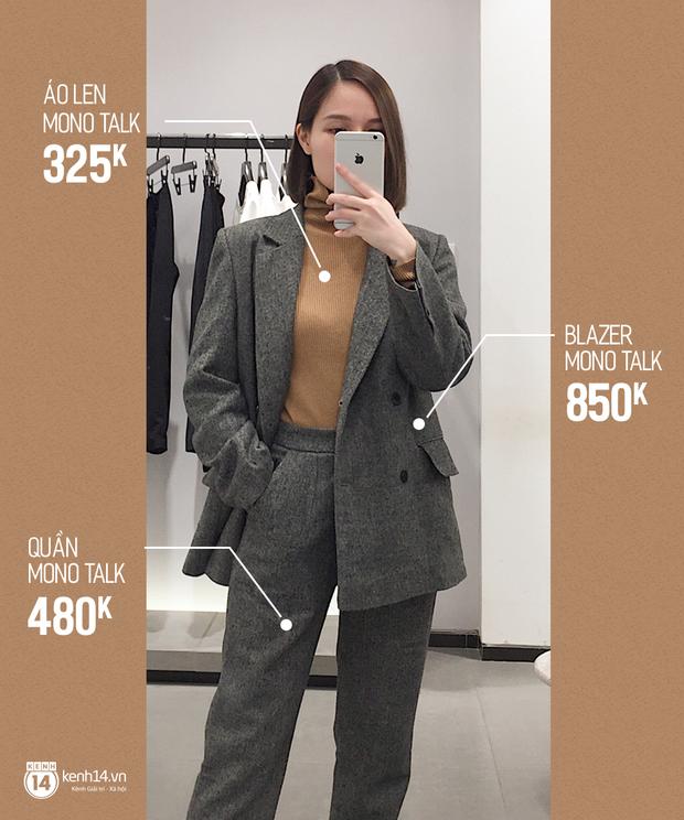 Dạo một vòng chọn mua blazer, tiện thể mách nước cho nàng công sở cách phối blazer + áo cổ lọ vừa ấm vừa đẹp - Ảnh 7.