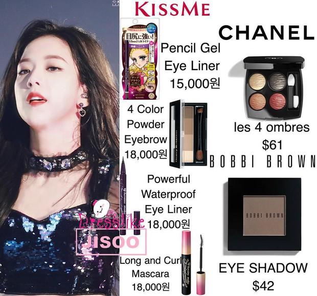 Cô gái nào cũng ước được như Jisoo (Black Pink): vẫn xinh dù hay dùng mỹ phẩm bình dân, thậm chí có món còn chưa đến 100,000 đồng - Ảnh 6.