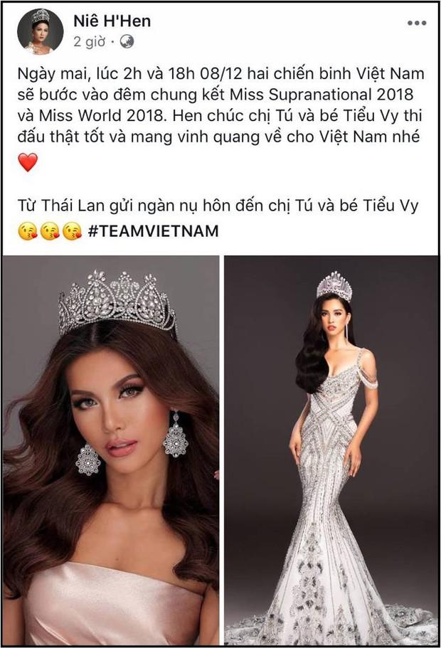 Clip: Dàn sao Việt đồng loạt gửi lời động viên tinh thần Minh Tú trước đêm Chung kết Miss Supranational - Ảnh 2.