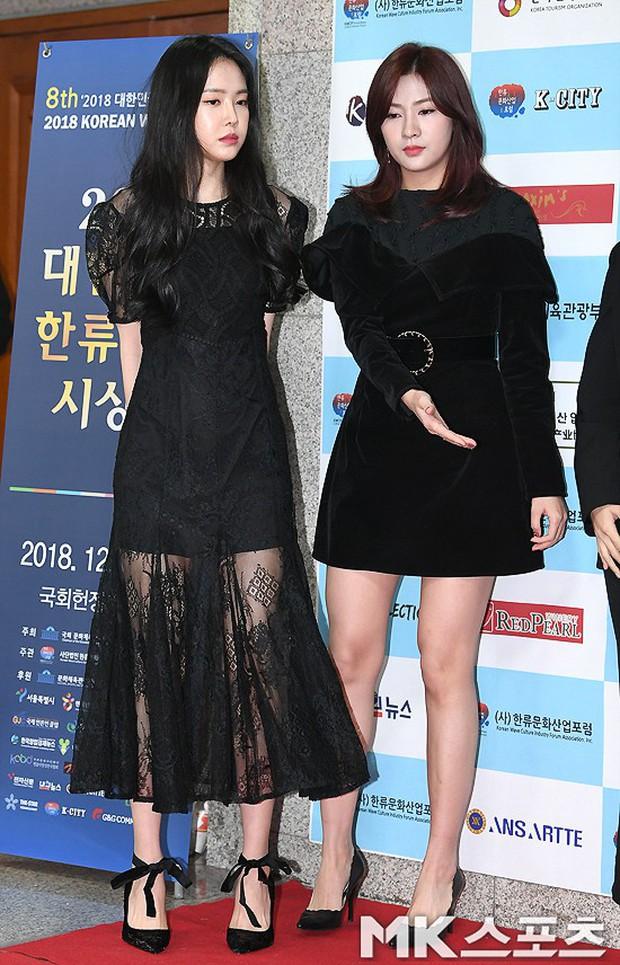 Thảm đỏ gây sốc: 2 thảm họa thẩm mỹ Kpop lộ mặt cứng đơ, Park Hae Jin đọ chân siêu dài bên nam thần mới nổi - Ảnh 2.