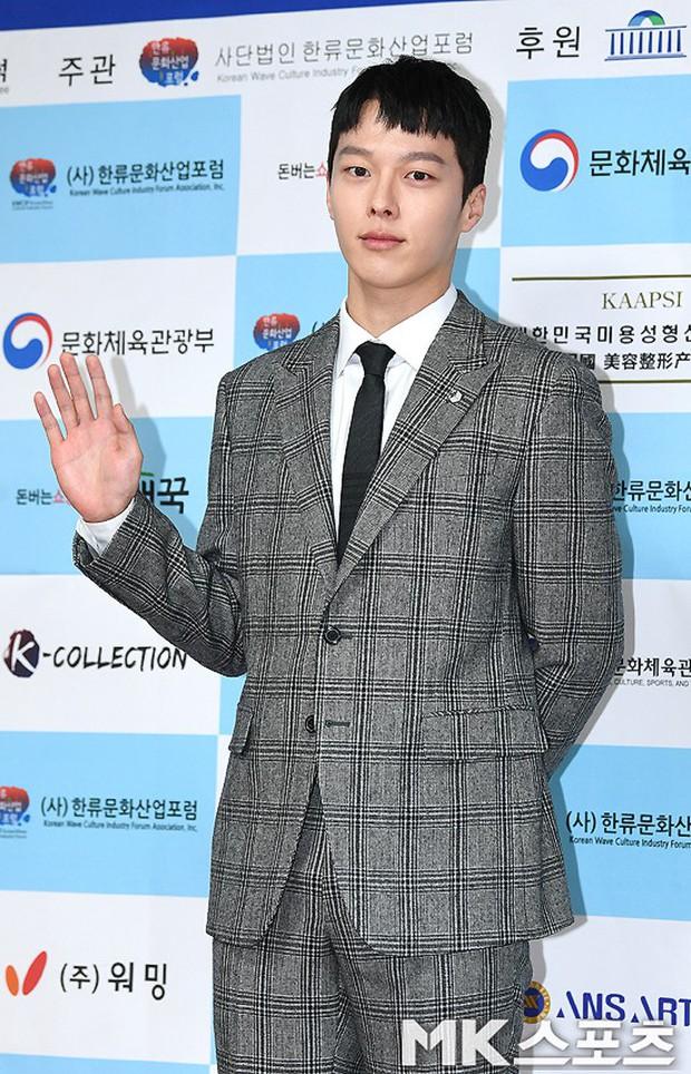 Thảm đỏ gây sốc: 2 thảm họa thẩm mỹ Kpop lộ mặt cứng đơ, Park Hae Jin đọ chân siêu dài bên nam thần mới nổi - Ảnh 17.