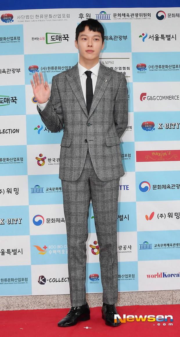 Thảm đỏ gây sốc: 2 thảm họa thẩm mỹ Kpop lộ mặt cứng đơ, Park Hae Jin đọ chân siêu dài bên nam thần mới nổi - Ảnh 18.