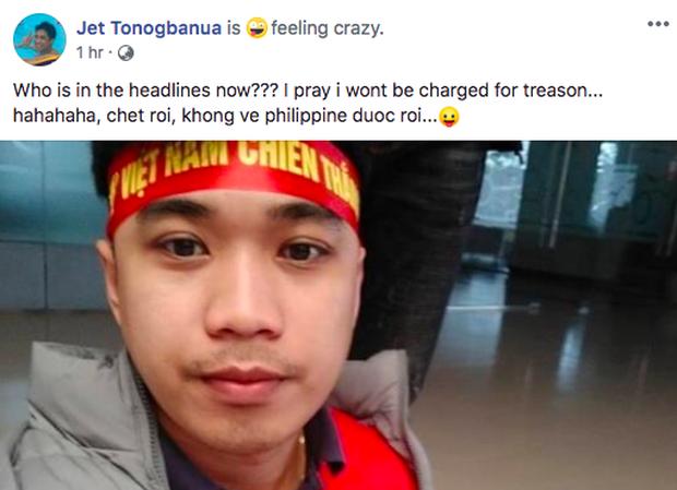 Thầy giáo điển trai người Philippines gây sốt vì cổ vũ cho đội Việt Nam: Chết rồi, tôi không còn đường về nước! - Ảnh 5.