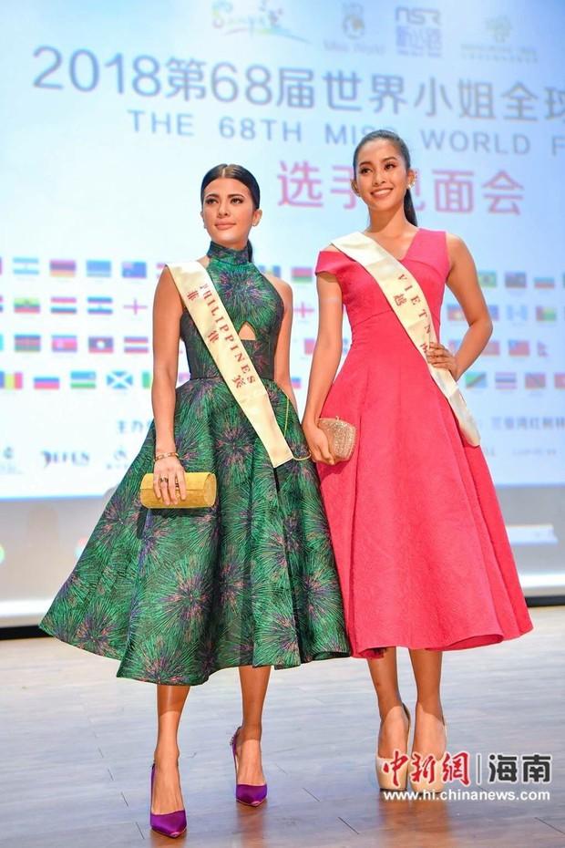 Động lực lớn nhất đến bên cạnh, Tiểu Vy đã sẵn sàng cho đêm chung kết Miss World 2018 - Ảnh 3.