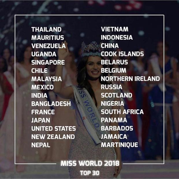 Người đẹp Mexico đăng quang Miss World 2018, Tiểu Vy dừng chân ở Top 30 trong tiếc nuối - Ảnh 12.