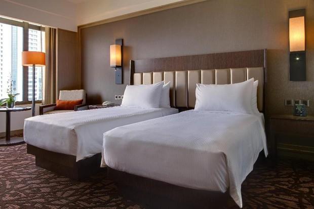 Tuyển Việt Nam khoe body chuẩn bên bể bơi của khách sạn 5 sao - Ảnh 5.