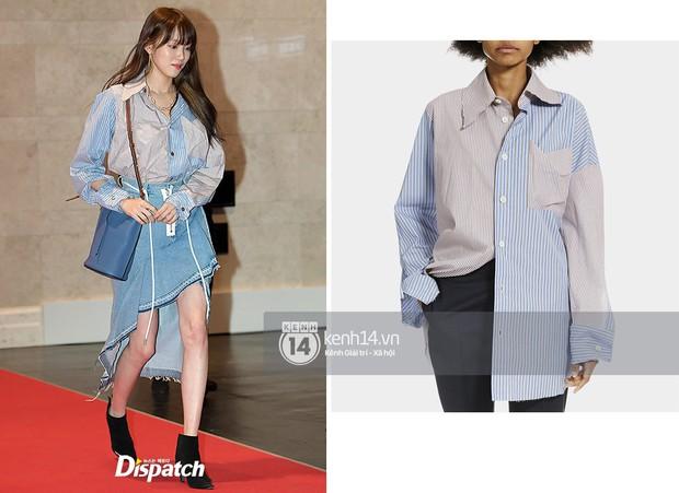 """Quả là Gigi Hadid, diện áo """"luộm thuộm"""" như Lee Sung Kyung mà trông khác biệt hoàn toàn - Ảnh 7."""