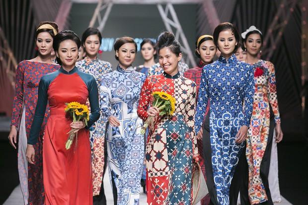 Năm 2017, nhờ phim Việt mà áo dài lên ngôi, được giới trẻ diện nhiều không thua kém các hot trend thời thượng - Ảnh 4.
