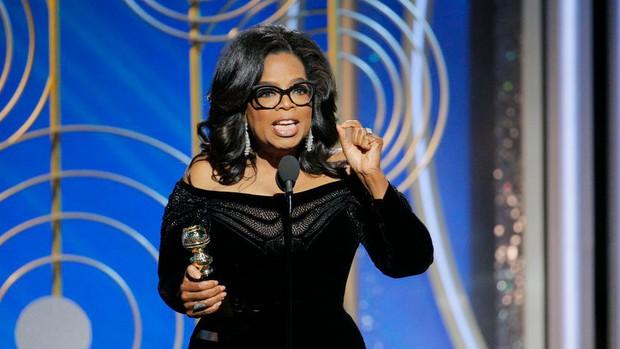 Hàng loạt khán giả phải rơi nước mắt trước bài diễn văn của Oprah Winfrey tại Quả Cầu Vàng 2018 - Ảnh 2.