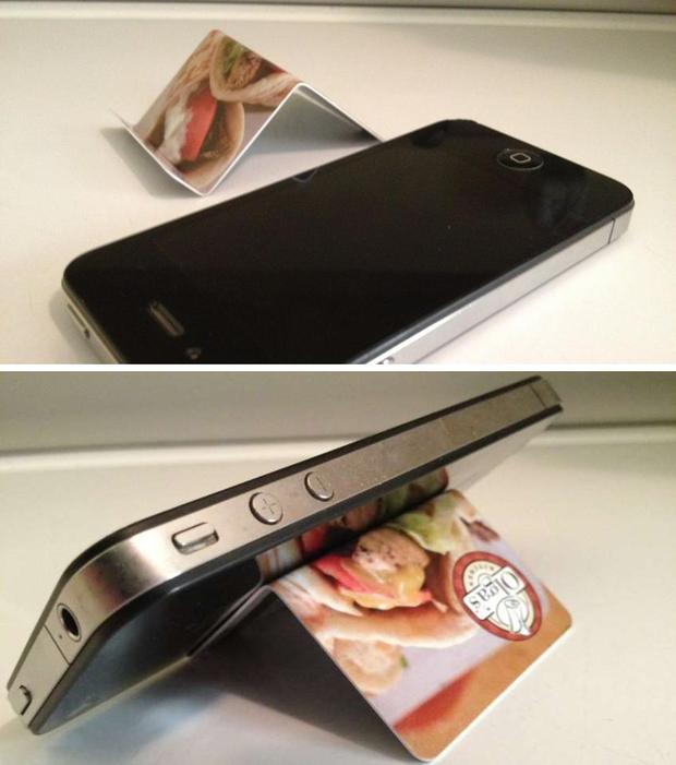 5 cách tự chế giá đỡ smartphone cực dễ