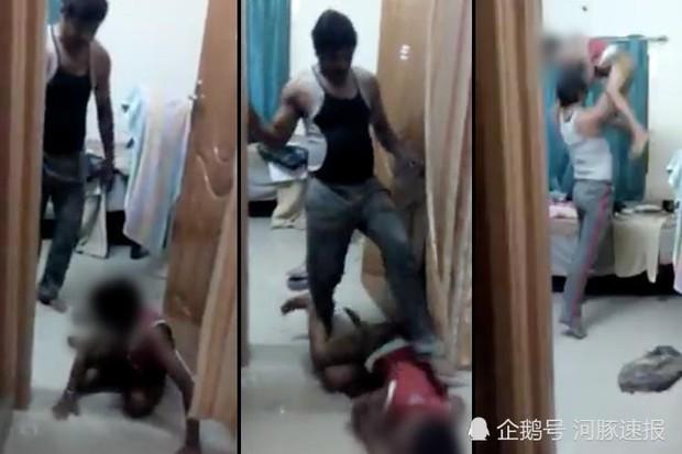 Người mẹ đem điện thoại đi sửa, nhân viên vô tình phát hiện ra video cha bạo hành con vô cùng tàn nhẫn - Ảnh 1.